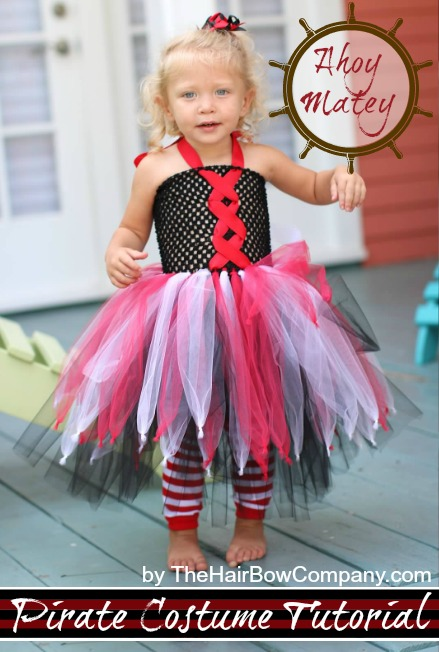 Pirate Costume Tutu Dress The Hair Bow Company