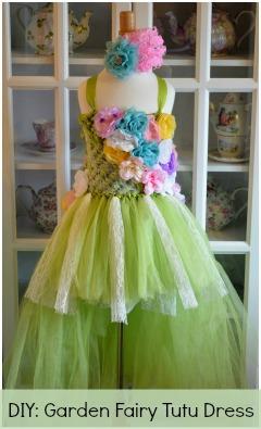 Homemade Tulle Dress