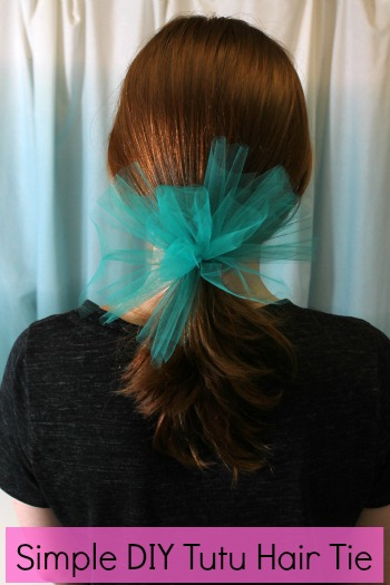 Simple Tutu Hair Tie The Hair Bow Company