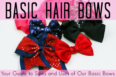 Basic Hair Bows Your Guide To Sizes And Uses Of All Our