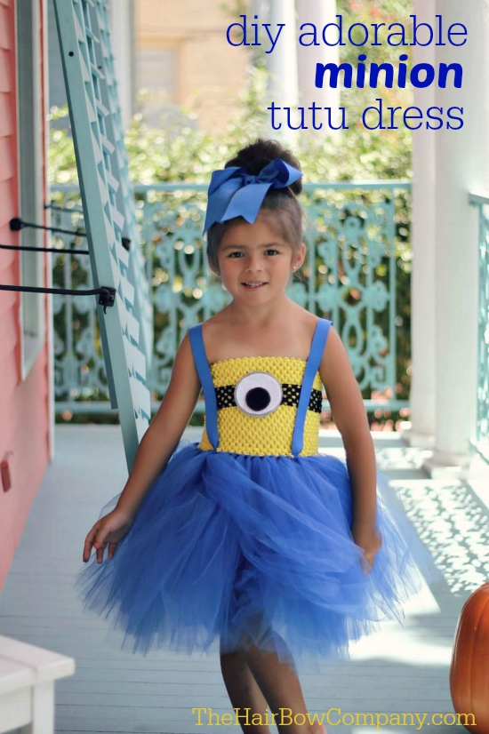 Super Minion Tutu Dress - The Hair Bow Company CA79