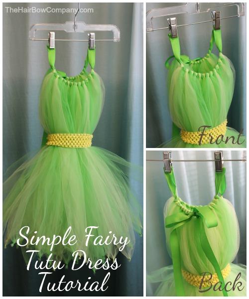 Fairy Tutu Dress Tutorial The Hair Bow Company