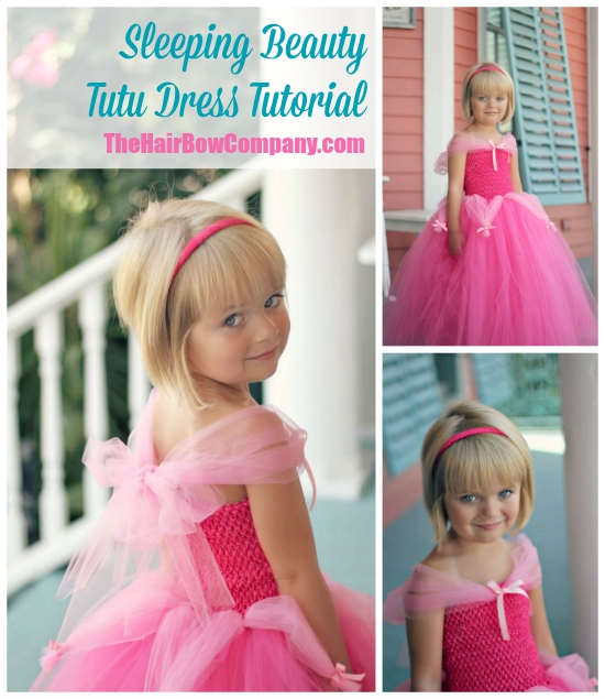 Sleeping Beauty Tutu Dress The Hair Bow Company