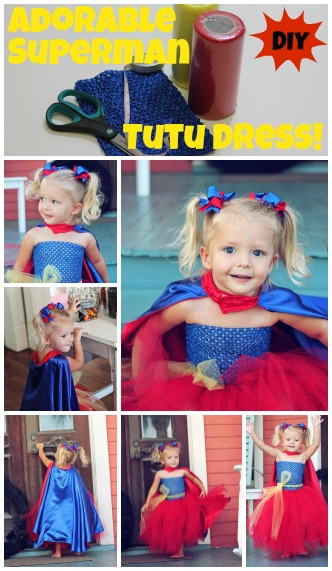 diy superhero tutu dress