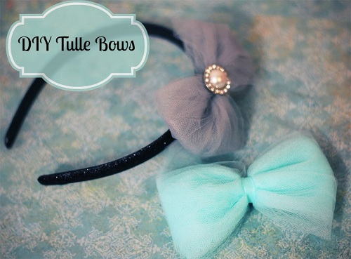 diy tulle bow