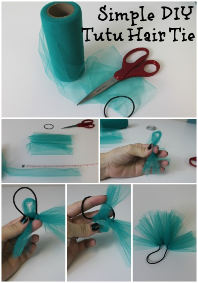 Simple Tutu Hair Tie The Hair Bow Company