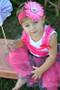 "Hot Pink 1.5"" Crochet Headband"