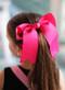 Hot Pink Cheer Bow