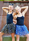 Tween & Teen Size Gold Dot Tutu