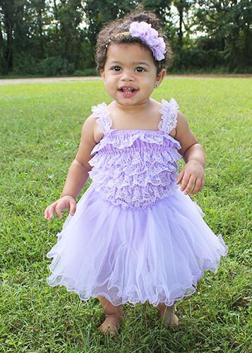 Fluffy Ballerina Tutu in Lavender