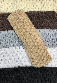 "Neutrals 1.5"" Crochet Headbands Variety Pack (6)"