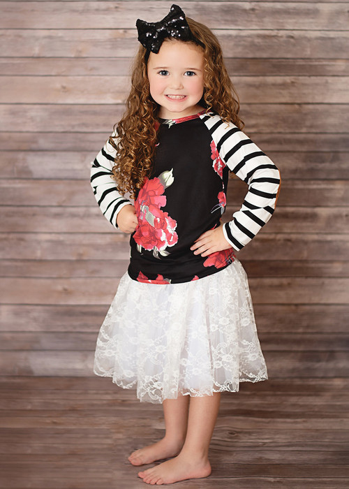 Lace tutus for girls ages 2-8.