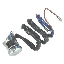 Hi-Low-Horn Switch, with Wiring, Drilled Handlebar, 31563, 022548, 99-0555, Emgo 46-68740