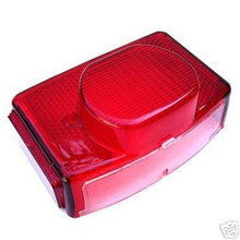 Tail Light Lens, 1973-78 BSA, Norton, Triumph Motorcycles, 54584930, 99-1257, 99-7046, Emgo 62-79830