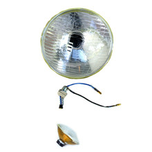 5-3/4 Inch Headlamp Glass, BSA, Norton, Triumph, Lucas, 516828, 54520452, 54524526, 54525272, 54525426, 99-1041, 54525272