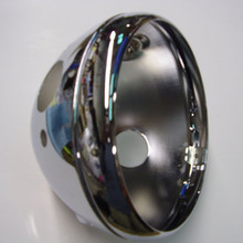 Headlamp Shell, with Ammeter Hole, 99-9969, Emgo
