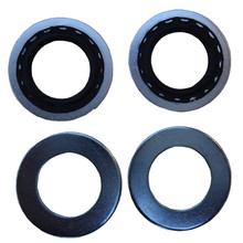 Petcock Washer/Seal Set, Rubber, BSA, Norton, Triumph Motorcycles, 70-7351 & 83-0002, Emgo 43-67189