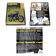 Haynes Owners Workshop Manual, 1968-1977 Norton Commando, 751cc, 828cc Motorcycles, 18-600