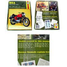 Haynes Owners Workshop Manual, 1962-1973 BSA A50 & A65 Twin Motorcycles, 18-800