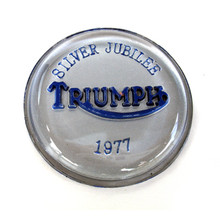 Tank Top Badge, Silver Jubilee, 83-7093