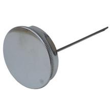 Oil Fill Cap, No Vent, Chrome, 82-3216