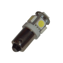 Headlight Pilot Bulb, LED, BSA, Norton, Triumph Motorcycles, 989, LLB989LEDPG, 2860-989PW