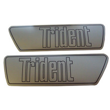 1968-1970 Trident Decal Set, Triumph Motorcycles, 60-1905, 60-1906