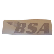 BSA Sticker, Gold, BSA Motorcycles, 24-BSAG