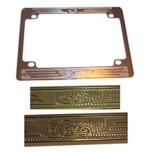 Chrome License Plate Frame, 42601
