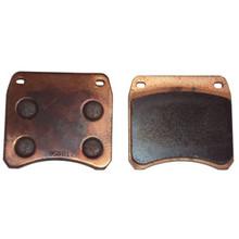 Metallic Disc Brake Pad Set, Triumph Motorcycles, 99-2769M, Emgo 64-48861