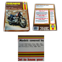 Haynes Owners Workshop Manual, Norton 497cc, 597cc, 647cc, & 745cc, 1957-1970 Motorcycles, 18-500