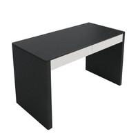 TAYLOR Desk Black Oak with White