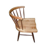 CAPTAIN Dining Chair Walnut and Ash
