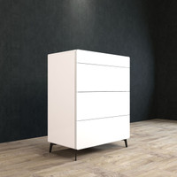 BRANDO Tallboy 80cm White Gloss