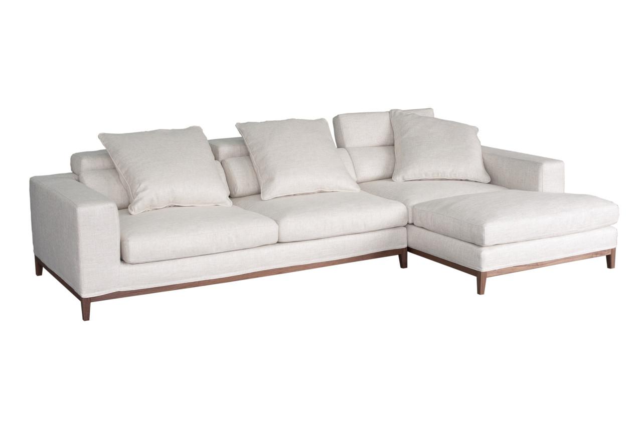 oslo sofa 3 seater compact chaise right cityside furniture. Black Bedroom Furniture Sets. Home Design Ideas