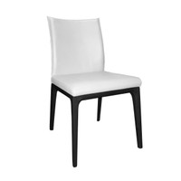 EVA Dining Chair / Black Stained Legs