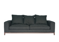 OSLO Sofa 3.5 Seater - Grey [Fine Weave]