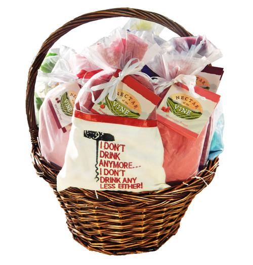 Frappé Gift Basket - 13 Pack (Wicker)