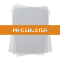 "BindMAX™ PolyCovers - 8.5"" x 11"" - Gloss Clear - PRICEBUSTER"