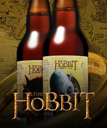 The Hobbit Beers Mid Free Ship Banner