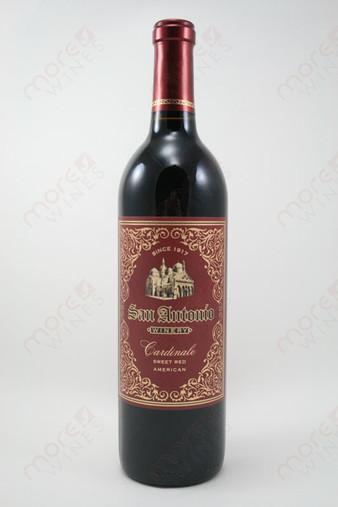 San antonio winery american cardinale 750ml morewines for Wine painting san antonio