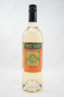 Sweet Sunset Golden Peach Wine