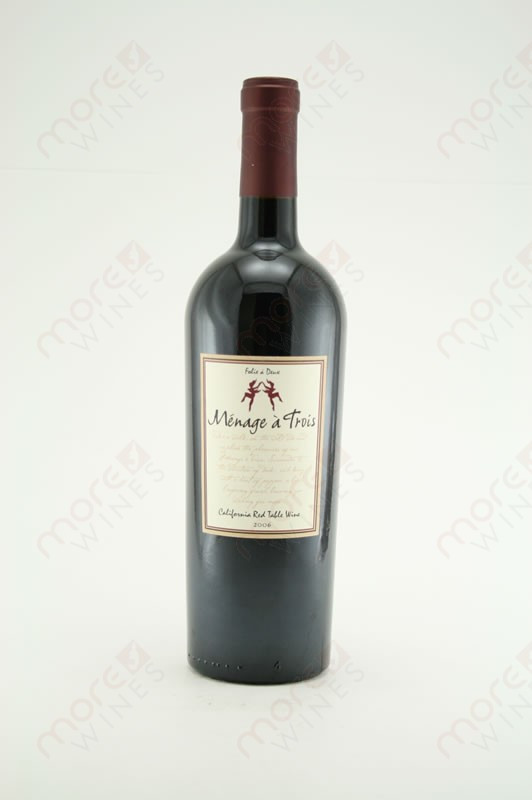 menage a trois california red wine 2012 750ml morewines. Black Bedroom Furniture Sets. Home Design Ideas