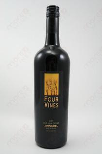 Four Vines Old Vine Cuvee Zinfandel 2008 750ml