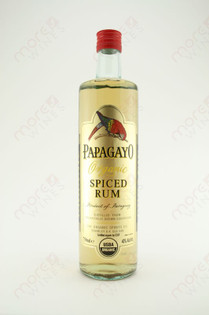 Papagayo Organic Spiced Rum 750ml