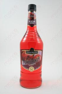 Hiram Walker Pomegranate Schnapps 1L