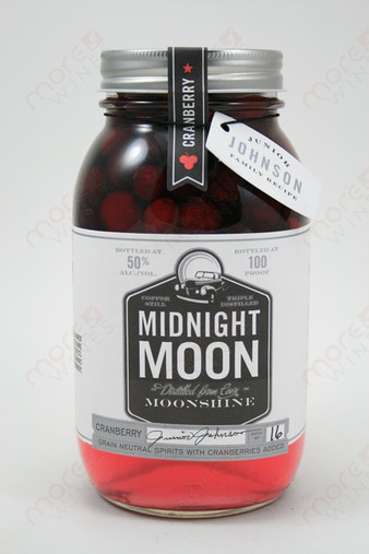 Midnight Moon Cranberry Carolina Moonshine 750ml
