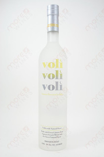 Voli Lemon Vodka 750ml