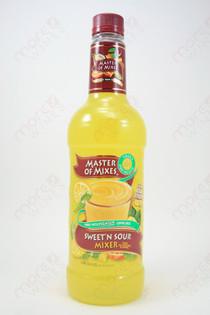 Master of Mixes Sweet' N Sour Mix 1L
