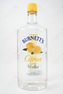 Burnett's Citrus Vodka 1.75L
